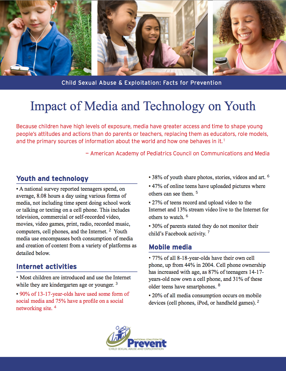 Social media impact on teens sexuality